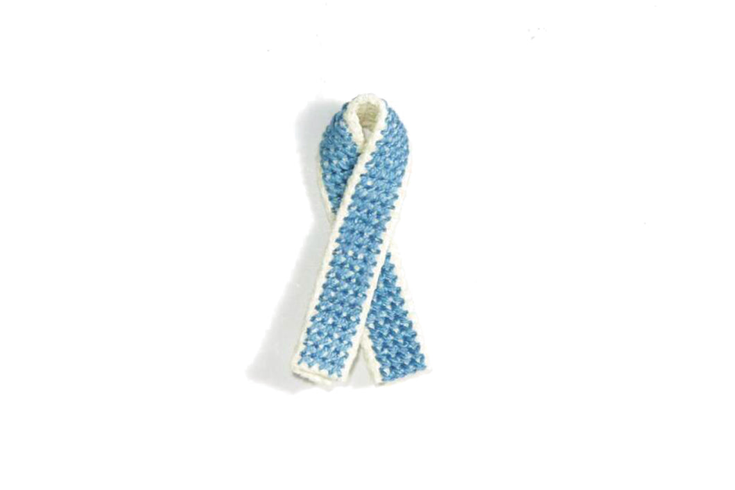 Handmade Prostate Cancer Awareness Pin