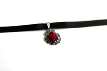 Cross Stitch Handmade Embroidery Choker