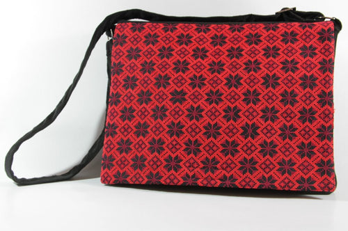 Handmade Embroidery Laptop Bag (Darza)