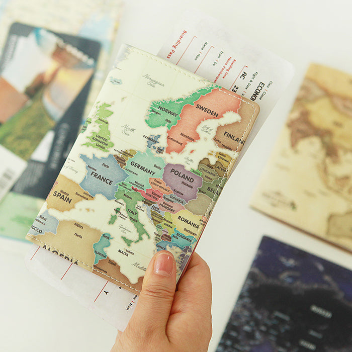 Explore the world with Indigo World Map Theme Collection