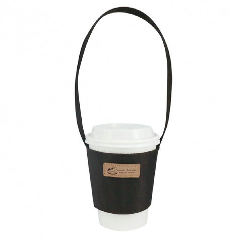 Uma hana Premium Monochrome Cup Holder Black