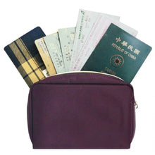 Load image into Gallery viewer, Bank Book Pouch Premium Purple