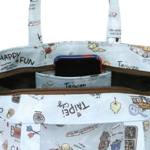 Load image into Gallery viewer, Uma hana Bucket Bag M Travel Corgi Grey