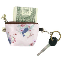 Load image into Gallery viewer, Dumpling Coin Purse with Key Ring Baby Corgi Black