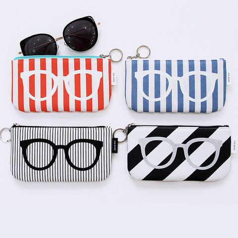 Indigo The Basic Cotton Glasses Pouch