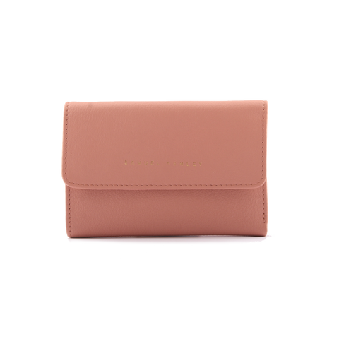 Samuel Ashley Olivia Trifold Wallet Ash Rose