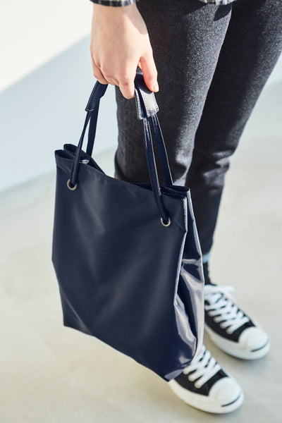 ITHINKSO Shoulder and Tote Bag Navy