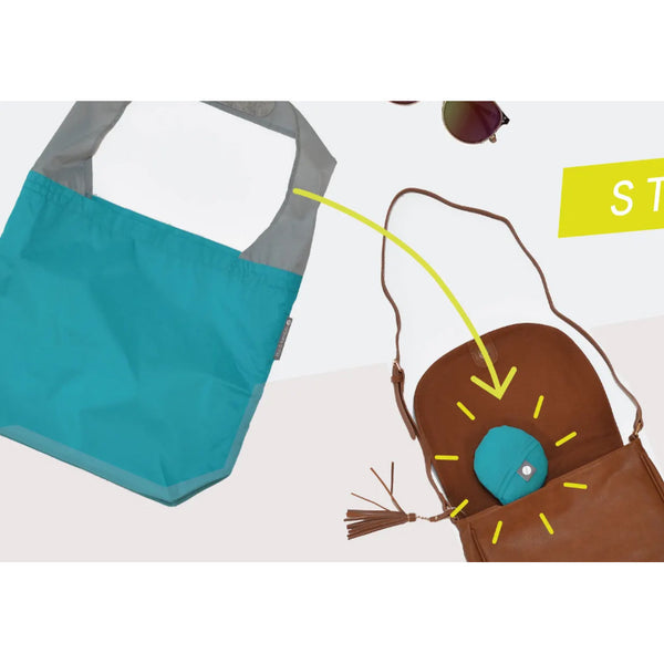 Flip and Tumble 24-7 Shopping Bag Eggplant