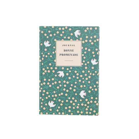 Livework Hard Cover Line Notebook (Large) Bonne Promenade
