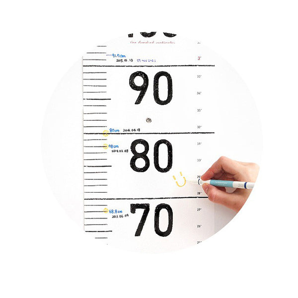Conitale Growth Chart Simple Ruler