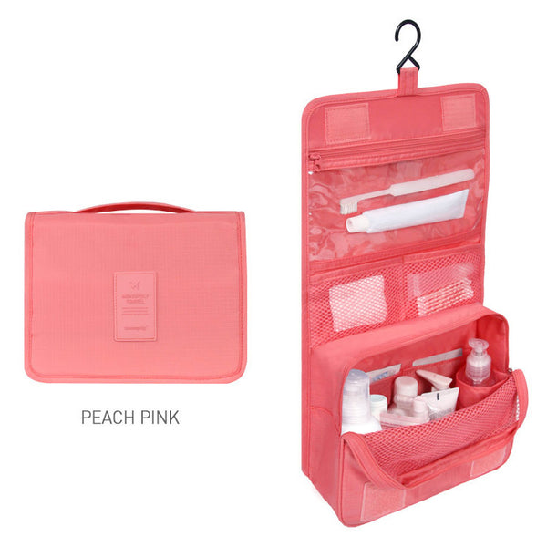 Monopoly Toiletry Pouch Pink