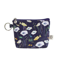 Load image into Gallery viewer, Indigo Willow Story Coin Purse Navy