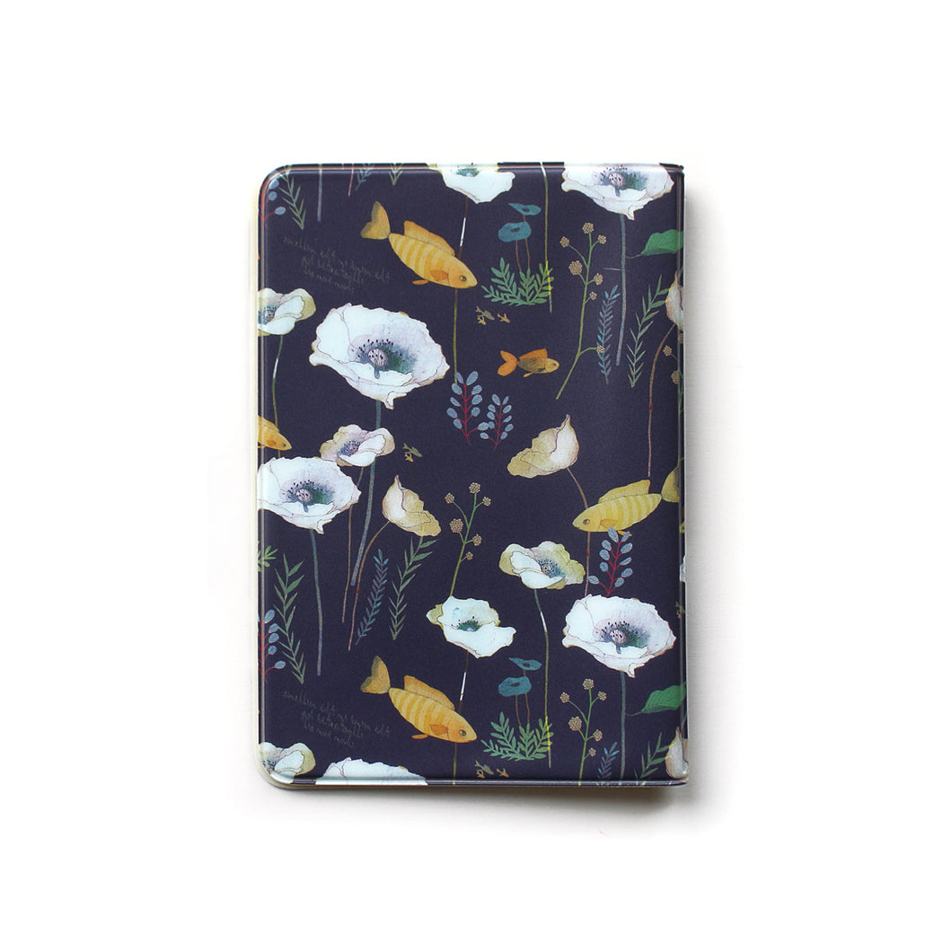 Indigo Willow Soft Passport Cover Navy