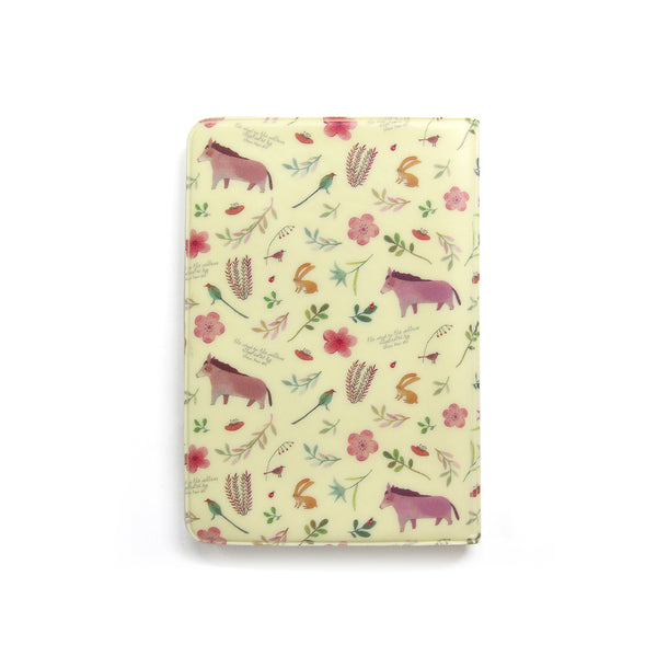 Indigo Willow Soft Passport Cover Yellow