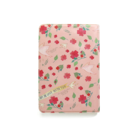 Indigo Willow Soft Passport Cover Pink