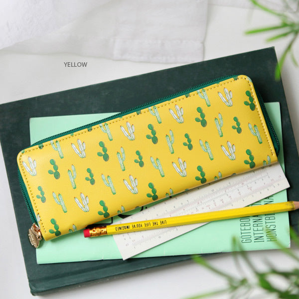 Indigo Willow Slim Pencil Case