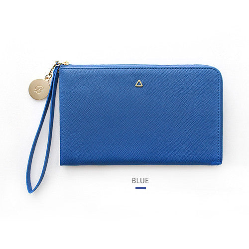Indigo THE BASIC Prism Strap Wallet Blue