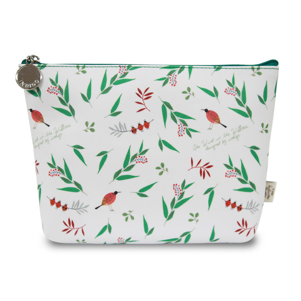 Indigo Willow V.4 Pouch White Fox