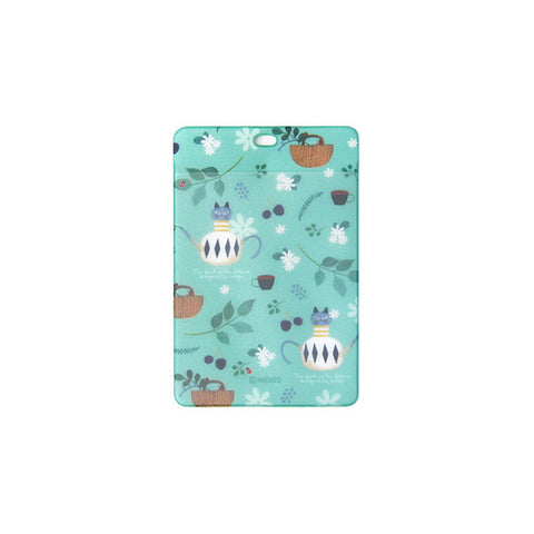 Indigo Willow V.4 Soft Card Case Mint Tea