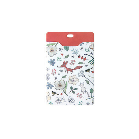 Indigo Willow V.4 Soft Card Case White Fox