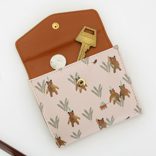 Indigo Willow V.4 Wallet Pink Bear