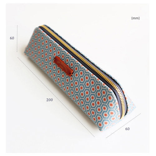 Invite.L Pattern der reisende Pencil Case Droplet