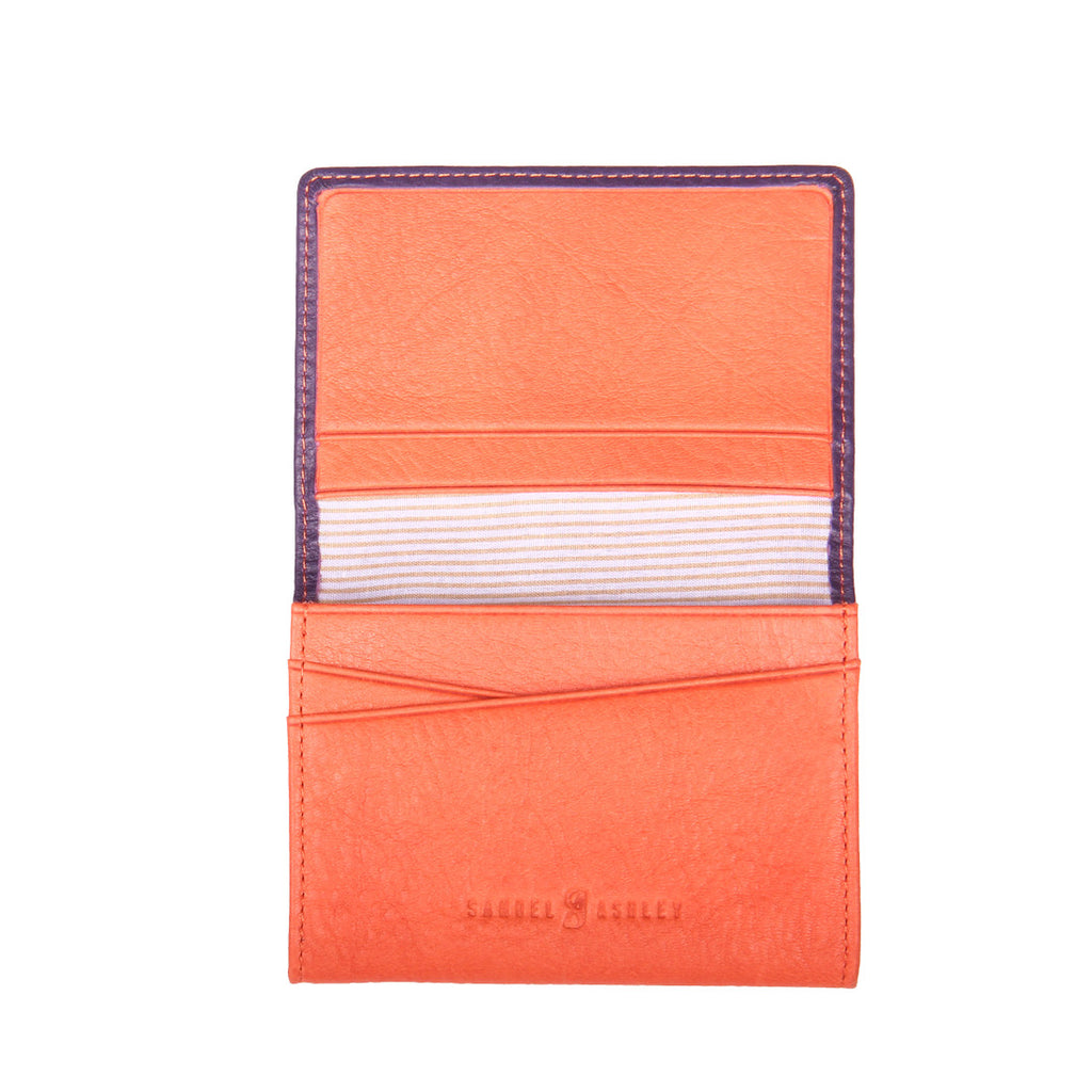 Samuel Ashley Neo Business Card Holder Grape
