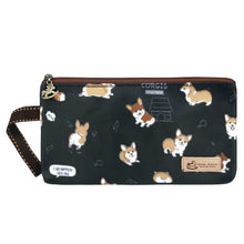 Load image into Gallery viewer, Storage Bag Baby Corgi Black