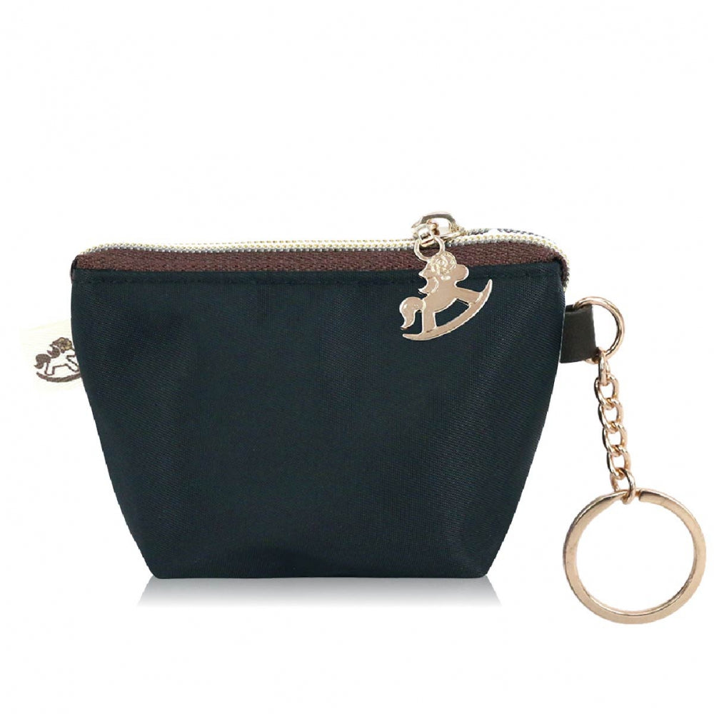 Dumpling Coin Purse Premium Black