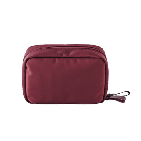 ITHINKSO Day Make Up Pouch ( Cosmetic Pouch) Wine