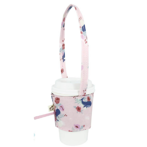 Uma hana Drink Cup Holder Dolphin Pink