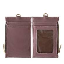 Load image into Gallery viewer, Neck Zipper Case with Lanyard  Dusty Premium Pink