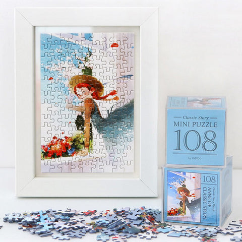 Anne of Classic Story 108 Piece Jigsaw Puzzle Blue