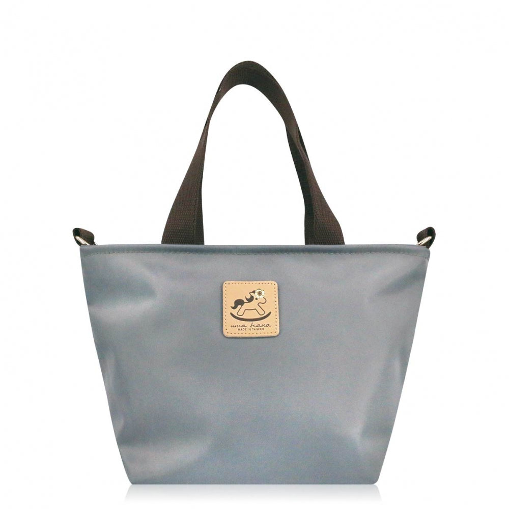Uma hana Premium Monochrome Prefect Bag with Strap Gray