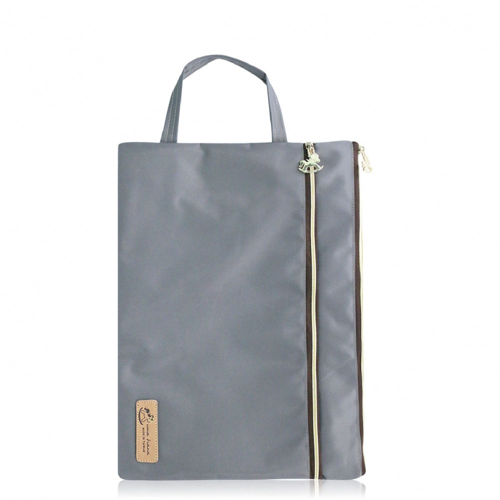 A4 File Bag Premium Grey