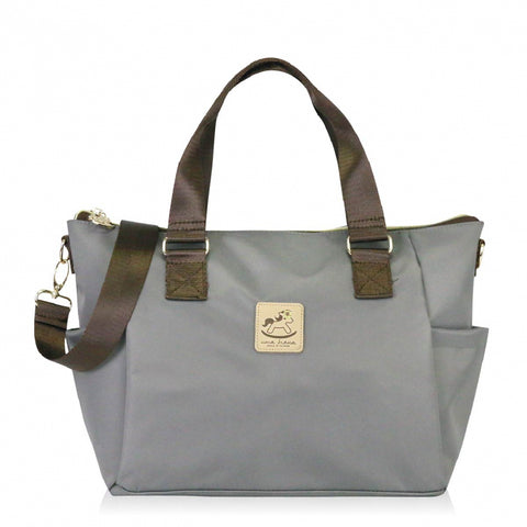 Uma hana Premium Monochrome Porlena Shoulder Bag Grey