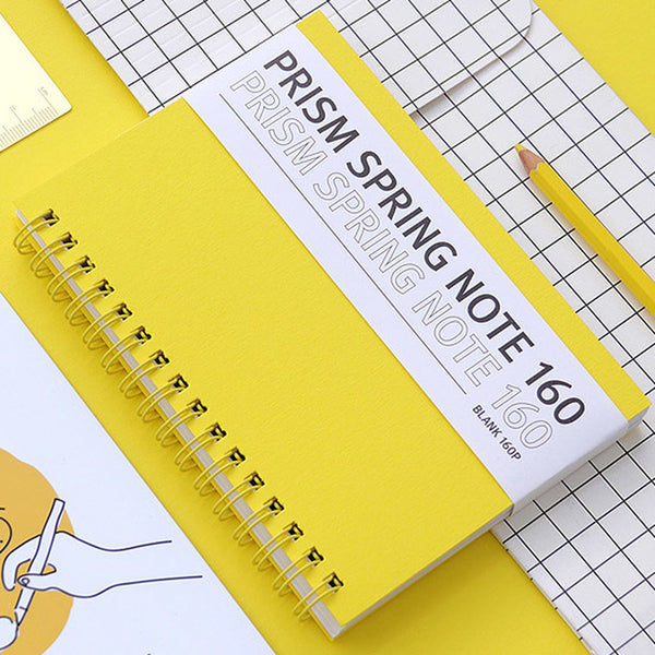 Indigo Prism Spring Note 160S Yellow (Sketch Book)