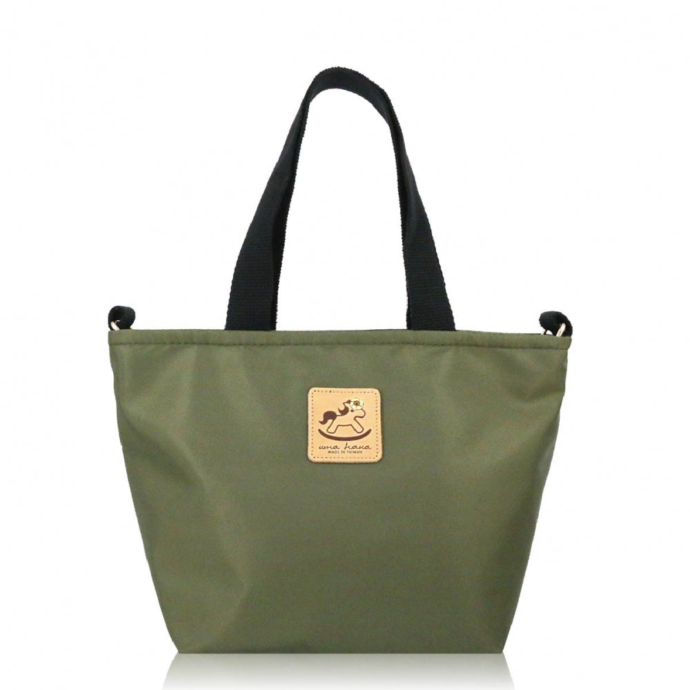 Uma hana Premium Monochrome Prefect Bag with Strap Khaki