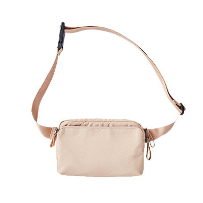 ITHINKSO Log Pack Crossbody Ivory
