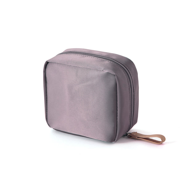 ITHINKSO Mini Day Make Up Pouch Mocha Gray