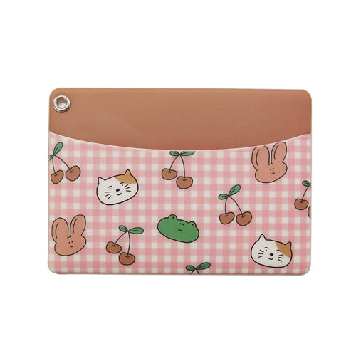 Monologue Daily Card Pocket Cherry
