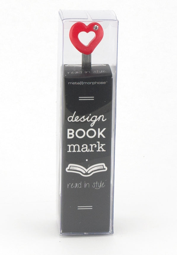 Metalmorphose Bookmark Wise Heart Red