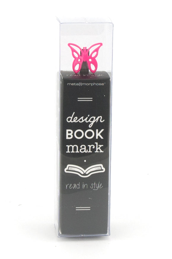 Metalmorphose Bookmark Butterfly Hot Pink