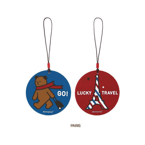 Monopoly Travel Tag Ver. 3