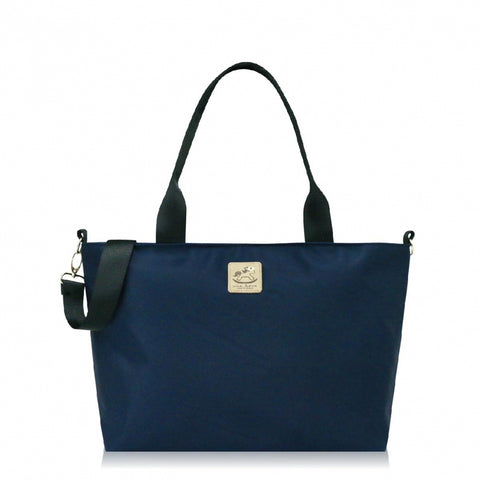 Uma hana Premium Monochrome A4 Horizontal Document Bag Navy