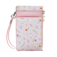 Load image into Gallery viewer, Willow Story Pattern Neck Zipper Case V.3 Pink
