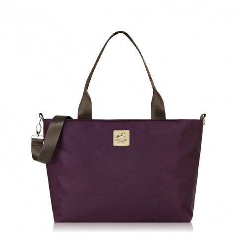 Uma hana Premium Monochrome A4 Horizontal Document Bag Purple