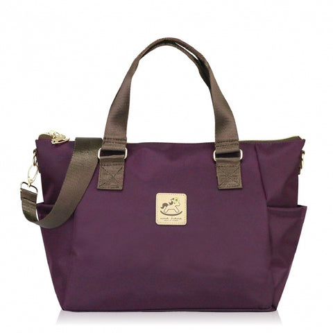 Uma hana Premium Monochrome Porlena Shoulder Bag Purple