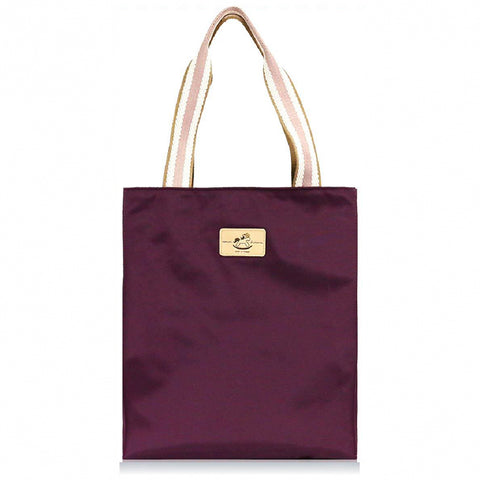 Uma hana Premium Monochrome Vertical XL Document Bag Purple