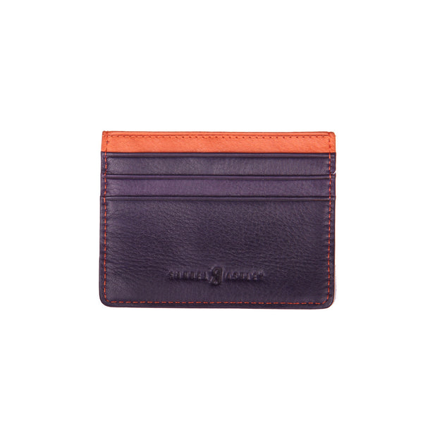 Samuel Ashley Eli ID Card Holder Grape